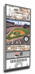 Mark Buehrle Perfect Game Canvas Mega Ticket - Chicago White Sox