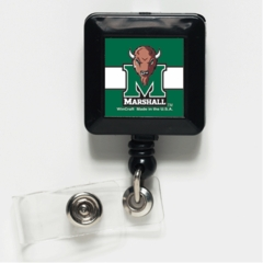 Marshall Thundering Herd Retractable Ticket Badge Holder