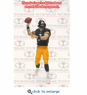 Mcfarlane 2011 NFL Playmakers Series 2 Ben Roethlisberger Pittsburgh Steelers Action Figure