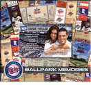 Minnesota Twins 8 x 8 Ticket & Photo Album Scrapbook