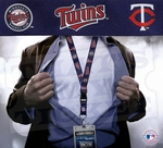 Minnesota Twins MLB Lanyard Key Chain and Ticket Holder