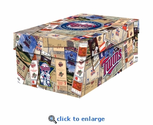 Minnesota Twins MLB Souvenir Ticket Photo Box