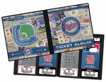 Minnesota Twins Ticket Album -  H.H.H. Metrodome