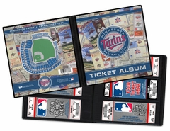 Minnesota Twins Ticket Album - Target Field