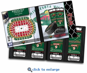 Minnesota Wild Ticket Album