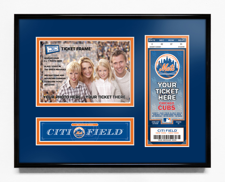 mlb ticket frames
