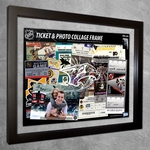 Nashville Predators Ticket & Photo Collage Frame