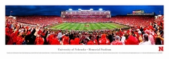 Nebraska, University Of - 50 Yard Line 40x13.5 Panoramic Photo