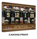 New Orleans Saints Personalized Locker Room Print - 2013 Rosters Updated