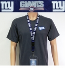 New York Giants NFL Lanyard Key Chain and Ticket Holder - Blue