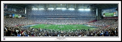 New York Giants Super Bowl XLII - vs Patriots 2008 50 YD Line Panoramic Photo
