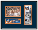 New York Islanders 4x6 Photo and Ticket Frame