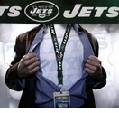 New York Jets NFL Lanyard Key Chain and Ticket Holder - Green