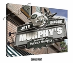 New York Jets Personalized Sports Room / Pub Print