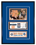 New York Mets 4x6 Photo and Ticket Frame