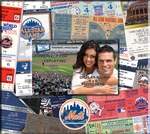 New York Mets 8 x 8 Scrapbook - Ticket & Photo Album