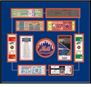 New York Mets Replica Tickets to History Frame