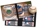 New York Mets Ticket Album - Shea Stadium