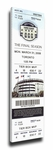 New York Yankees 2008 Opening Day Canvas Mega Ticket