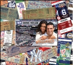 New York Yankees 8 x 8 Scrapbook - Ticket & Photo Album