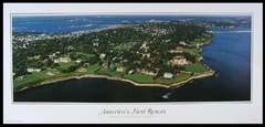 Newport, RI - America's First Resort Panoramic Photo