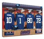 NFL Personalized Locker Room Prints