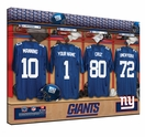NFL Personalized Locker Room Prints - 2013 Rosters Updated