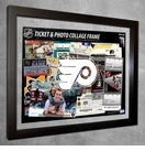 NHL Ticket & Photo Collage Frames