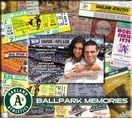 Oakland A's 8 x 8 Ticket & Photo Album Scrapbook