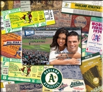 Oakland A's 8 x 8 Scrapbook - Ticket & Photo Album