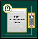 Oakland Athletics 8x10 Photo and Ticket Frame