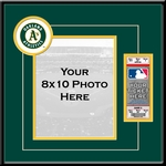 Oakland Athletics 8x10 Photo Ticket Frame