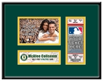 Oakland Athletics Personalized First Game Ticket Frame