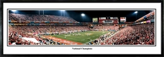 Ohio State Buckeyes 2002 National Champions - Fiesta Bowl vs. Miami Panoramic Photo