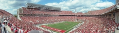 Ohio State Buckeyes 48 Yard Line Panoramic Photo