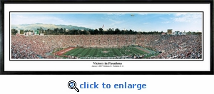 Oklahoma Sooners Victory in Pasadena - Rose Bowl vs. Washington State (2003) Panoramic Photo