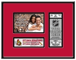 Ottawa Senators 4x6 Photo and Ticket Frames