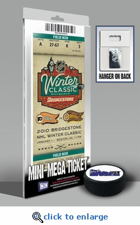 Personalized 2010 NHL Winter Classic Mini-Mega Ticket - Boston Bruins