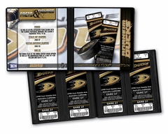 Personalized Anaheim Ducks Ticket Album