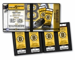 Personalized Boston Bruins Ticket Album