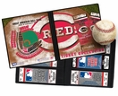 Personalized Cincinnati Reds Ticket Album