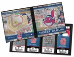 Personalized Cleveland Indians Ticket Album