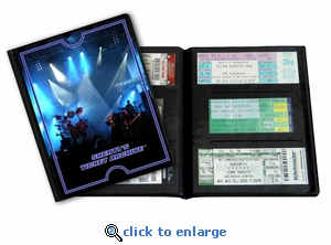 Personalized Concert Ticket Album - Rock Cover