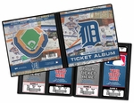 Personalized Detroit Tigers Ticket Album