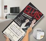Personalized Elvis Presley Mega Ticket - Las Vegas Hilton 1976