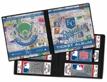 Personalized Kansas City Royals Ticket Album