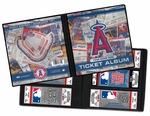 Personalized Los Angeles Angels of Anaheim MLB Ticket Album