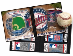 Personalized Minnesota Twins Ticket Album - Target Field