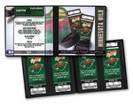 Personalized Minnesota Wild Ticket Album