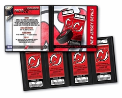 Personalized New Jersey Devils Ticket Album